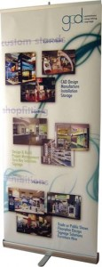 Single Sided Pull Up Banner